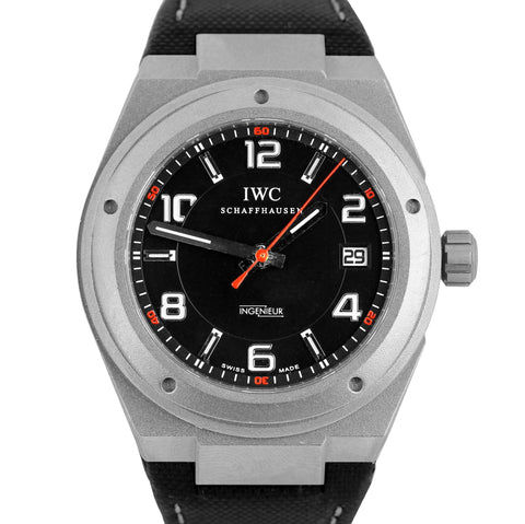 IWC Ingenieur Mercedes AMG 42mm Automatic Titanium Watch IW322703 3227 3227-03