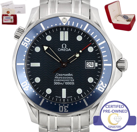 Omega Seamaster Professional 300M 2531.80 Blue Wave Automatic 41mm Watch