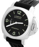 MINT Men's Panerai PAM 312 N Luminor Marina 1950 3 Day Black 44mm Watch PAM00312
