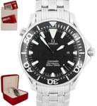 Omega Seamaster Professional Sword Hands Black 300M 2264.50 41mm Quartz Watch