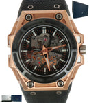 Limited Linde Werdelin SpidoLite 3D Movement 18K Rose Gold Titanium Skeleton