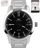 BRAND NEW IWC Ingenieur Automatic Black 40mm IW357002 Stainless Steel Date Watch
