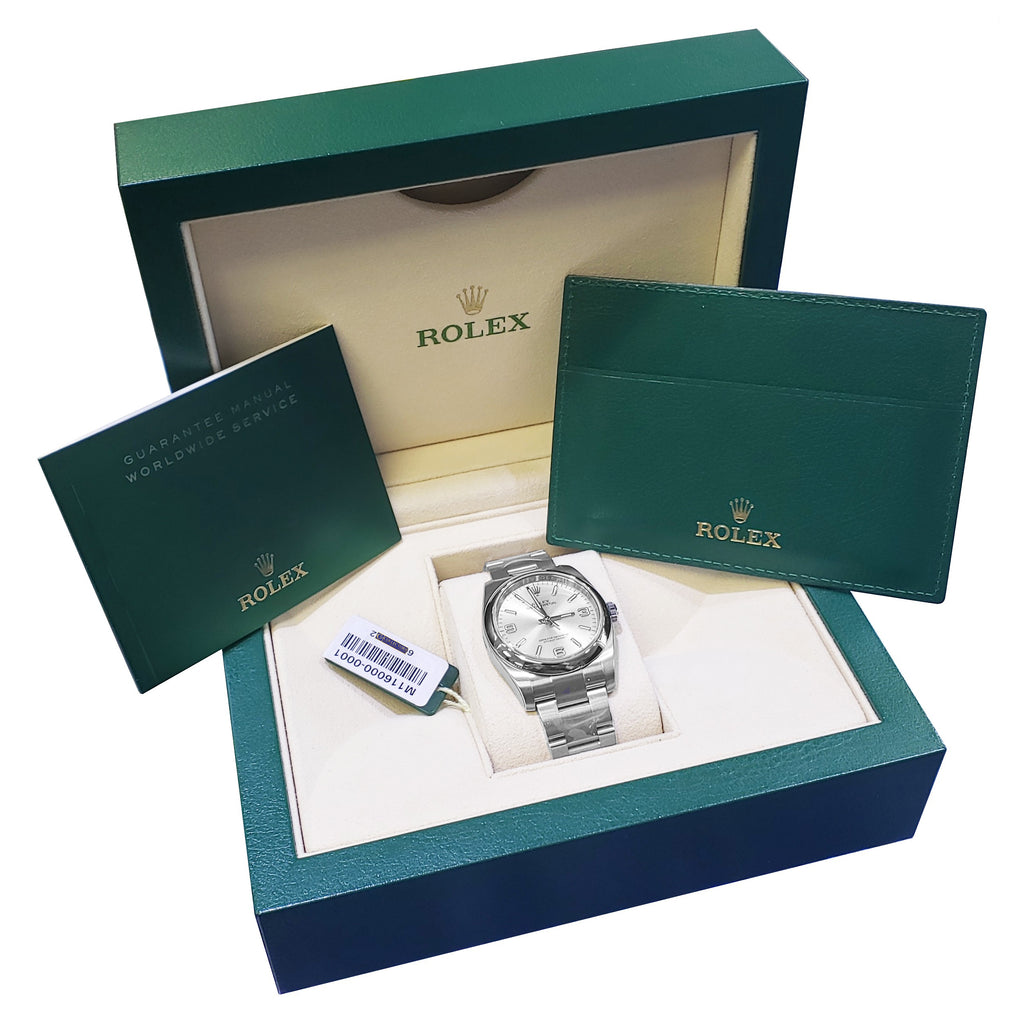 BRAND NEW Rolex Oyster Perpetual 116000 36mm Stainless Steel Arabic Stick Watch