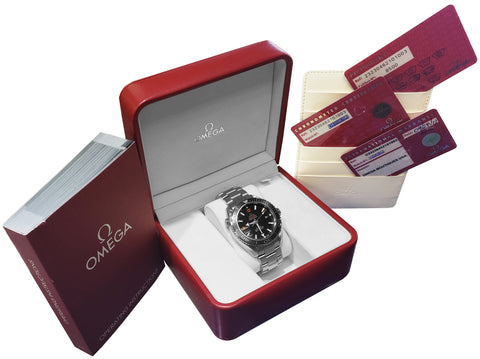 MINT Omega Seamaster Planet Ocean Black 45.5mm Co-Axial 600M 232.30.46.21.01.003