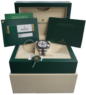 2019 UNWORN Rolex Daytona Cosmograph PANDA 116500 LN Ceramic White 40mm Watch