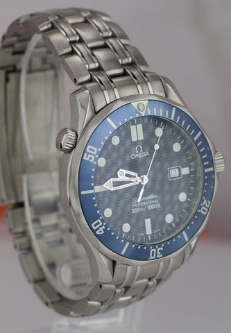 Omega Seamaster Professional 300M 2541.80 Blue Wave BOND Quartz 41mm Watch