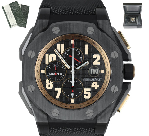 Audemars Piguet AP Royal Oak Offshore Legacy Schwarzenegger Ceramic 48mm 26378