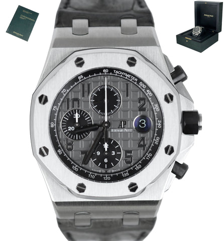 2015 Audemars Piguet AP Royal Oak Offshore Elephant 42mm Chrono Stainless 26470