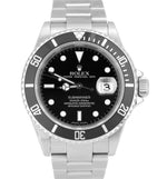 2009 UNPOLISHED REHAUT Rolex Submariner Date V SERIAL SEL Pre-Ceramic 16610 T