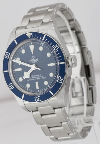 BRAND NEW Tudor Black Bay Fifty Eight 58 BLUE Stainless Steel 39mm Watch 79030B