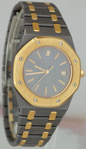 RARE Audemars Piguet Royal Oak 36mm Tantalum 18K Rose Gold TANTALE 14486tr Watch