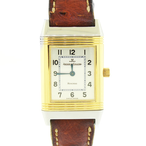 Jaeger-LeCoultre Reverso Gold Trimmed Stainless Steel 260.5.08 Watch