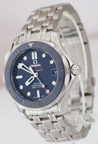Omega Seamaster DIVER 300M Co‑Axial 36.25 Blue Ceramic Watch 212.30.36.20.03.001