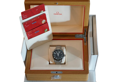 BRAND NEW Omega Seamaster Planet Ocean 43.5mm 215.30.44.21.01.001 Ceramic Watch