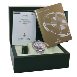 MINT 2005 PAPERS Rolex Explorer II 40mm White 16570 Polar Watch Box