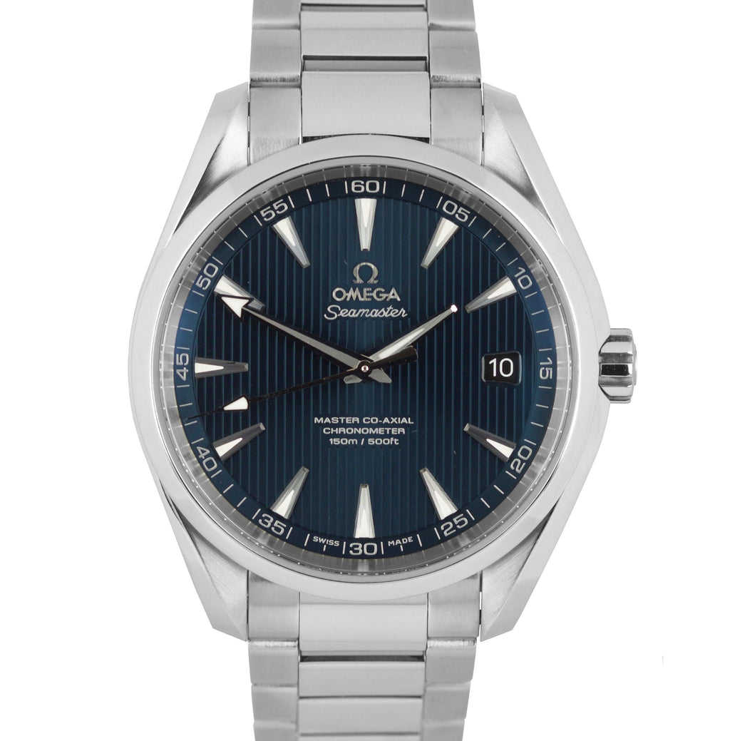 Omega Seamaster Aqua Terra 41.5 Automatic Steel Blue Watch 231.10.42.21.03.003