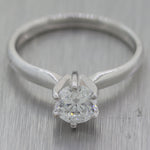 Helzberg 14k White Gold 0.71ct Diamond Solitaire Engagement Ring