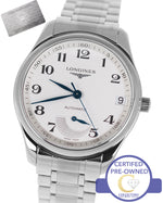 Longines Automatic Master Collection Power Reserve 40mm Stainless L2.666.4 Watch