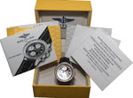 Limited Edition Breitling Old Navitimer II A13022 Snowbirds Black Leather 41.5mm
