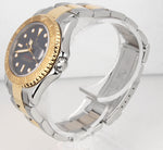1999 Ladies Rolex Yacht-Master 68623 A 35mm 18K Two Tone Gold Steel Swiss Watch