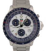 Men's Tag Heuer Pilot Chronograph Stainless Steel White Dial 42mm 530 805 Watch