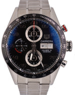 MINT TAG Heuer Carrera Calibre 16 Chronograph Day-Date 43.5mm Steel CV2A10 Watch