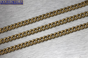 "Men's Modern 23.00"" 14K 585 Yellow Gold Curb Cuban Link Chain Necklace 27.5gr"