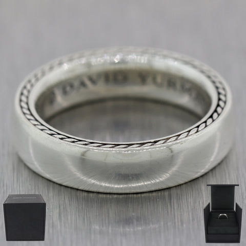 Men's David Yurman Sterling Silver Streamline Band Ring