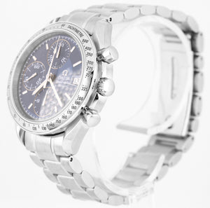 Omega Speedmaster Chronograph Blue Dial 39mm 3513.82.00 Stainless Date Watch