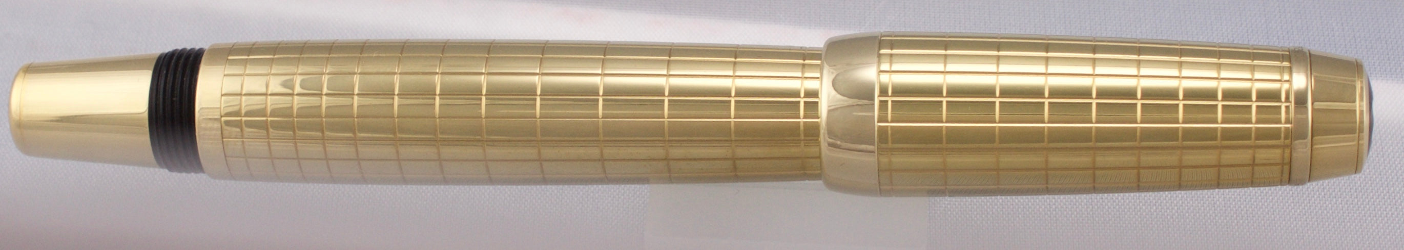 Mint Montblanc Bohème Solitaire Yellow Gold Citrine Rollerball Pen 07513