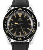 Vintage Omega Seamaster 300 Big Triangle Automatic Black 41mm 165.024 Watch
