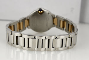 Ladies Cartier Ballon Bleu Quartz 28mm Two-Tone Stainless W2BB0010 3009 Watch