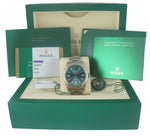 NEW JULY 2019 Rolex Milgauss Z-Blue Green Anniversary 40mm 116400 GV 40mm Watch