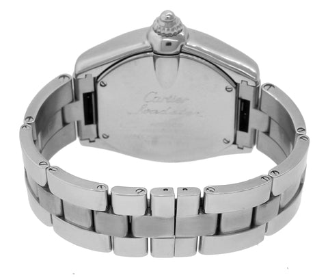 e378a54f219 Cartier Roadster XL GMT W62032X6 Silver Roman Automatic Stainless Watch 2722