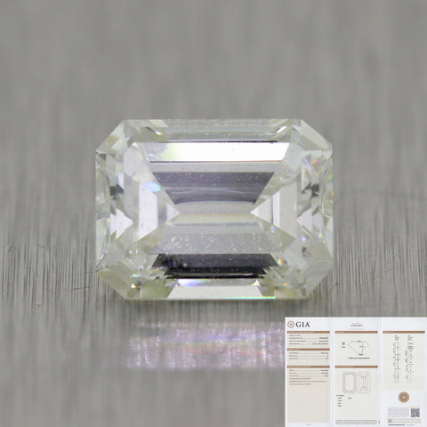 2.05ct GIA Emerald Cut K SI1 Natural Modern Diamond