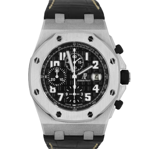 Audemars Piguet Royal Oak Offshore Black Themes Chronograph 42mm 26020 26170