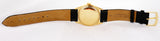 1980 Rolex Day-Date President Diamond Black 36mm 18038 18K Yellow Gold Watch