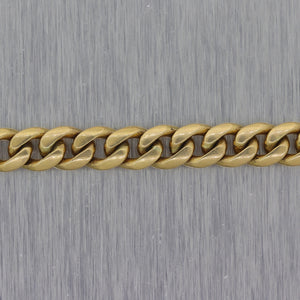 "Men's 54.93G Modern Chain 14k Yellow Gold Miami Cuban Link 25.5"" Necklace"