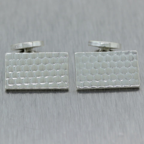 Men's Tiffany & Co. Vintage Estate Sterling Silver Cufflinks