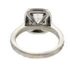 Stunning GIA 2.51ct Cushion Modified Brilliant Diamond Engagement Ring