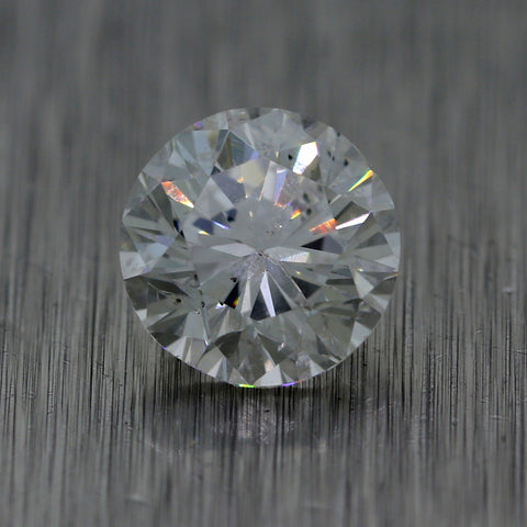 1.05ct GIA Round Shape Brilliant Cut G I2 Natural Modern Loose Diamond