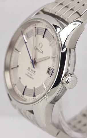 MINT Omega DeVille Hour Vision Co-Axial 41mm Stainless Watch 431.30.41.21.02.001