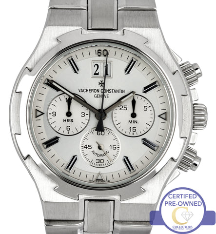 Vacheron Constantin Overseas 49140 40mm Stainless Steel Chronograph Date Watch