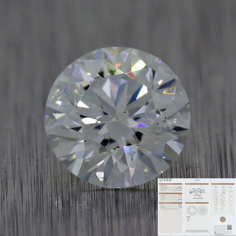 1.19ct GIA Round Shape Brilliant Cut G SI2 Natural Modern Loose Diamond