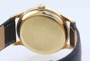 1950's Vintage Omega Solid 18k Yellow Gold Manual Wind Cal. 268 35mm Watch