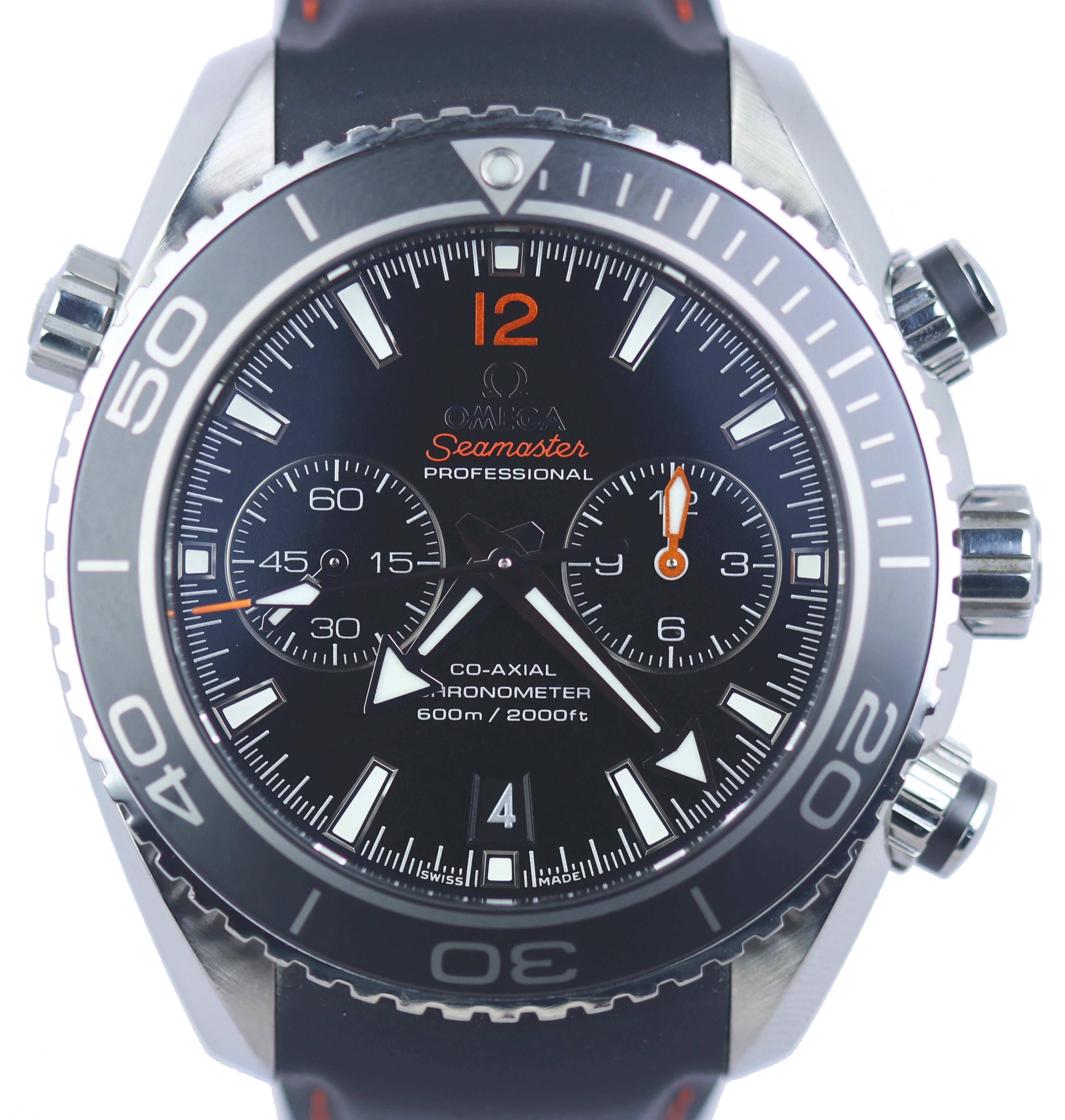 Omega Seamaster Planet Ocean Chronograph Ceramic 600M Axial 232.30.46.51.01.003