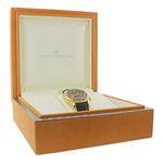 Girard Perregaux Traveller II Solid 18k Gold 38mm Alarm GMT Date 4940 Watch wBox
