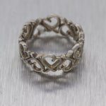 Tiffany & Co. Paloma Picasso Sterling Silver Heart Ring