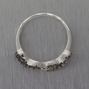 LeVian 14k White Gold 0.50ctw Chocolate Diamond Ring