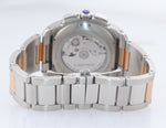 2017 PAPERS Cartier Calibre 3578 Chronograph 18K Rose Two Tone W7100042 Watch